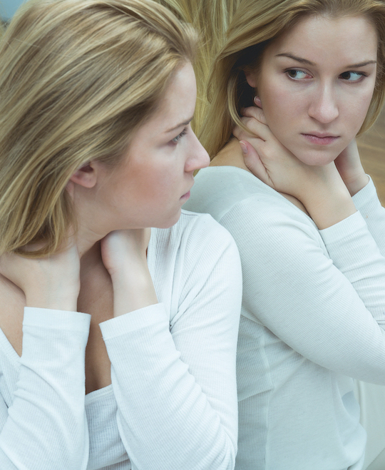 Sad women looking out of window | SCPC TMS
